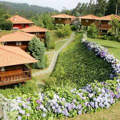 RUSTICASA | Quinta das Eiras | Madeira: Casas de madeira  por Rusticasa