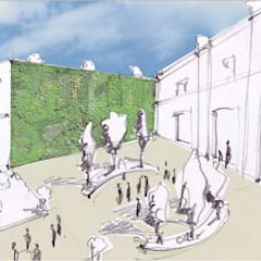 Il progetto dell'Agorà: Sedi per eventi in stile  di Natura&Architettura
