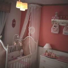 Vista Geral: Quartos de bebê  por STUDIO ROCHA ARQUITETURA E DESIGN DE INTERIORES