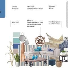 Casas multifamiliares de estilo  por Andrea Loya