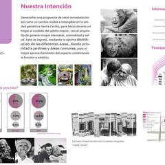 Asilo en Monterrey: Hospitales de estilo  por Andrea Loya