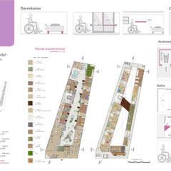 Plantas arquitectónicas: Hospitales de estilo  por Andrea Loya