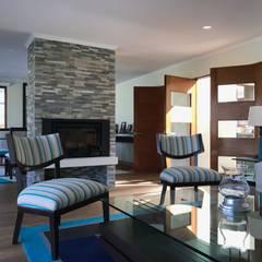 Casa El Golf: Livings de estilo  por AtelierStudio