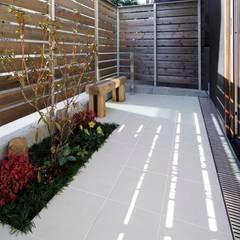 حديقة تنفيذ スタジオ・スペース・クラフト一級建築士事務所