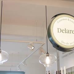 Delares. Gourmet&Local. El Pont de Suert (Lleida): Oficinas y Tiendas de estilo  de ALBERT SALVIA dissenyador d'interiors