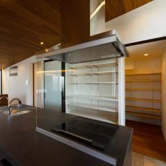 haus-flat キッチン&収納&パントリー: 一級建築士事務所hausが手掛けたキッチン収納です。