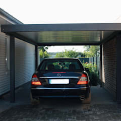 Garage/shed by Carport-Schmiede GmbH & Co. KG
