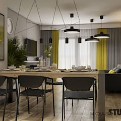 Dining room by MIKOŁAJSKAstudio
