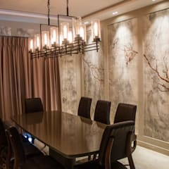 DINING ROOM:  Dining room by DESIGNER'S CIRCLE