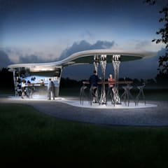 Bodega Haven - Kiosk Bar:  Gastronomie von Peter Stasek Architects - Corporate Architecture