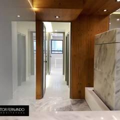 Leandro Rodrigues - PLASTIC SURGERY Spa minimalista por VITOR FERNANDO Architecture Minimalista Mármore