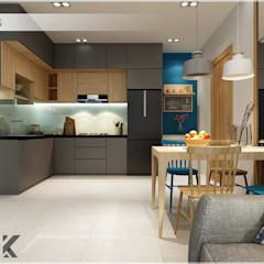 Dining room by Công ty TNHH TMDV Decor KT, Asian