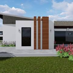 Birchliegh Kempton Park : modern Houses by Blackstructure Architects