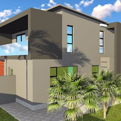 Maisons modernes par BlackStructure Moderne