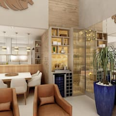 Bar e Adega: Adegas modernas por Juliana Zanetti Arquitetura e Interiores