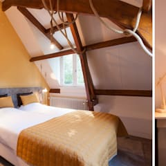 Hotelkamer met touwlamp:  Hotels door Inspiring Concepts