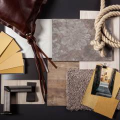 Kleur- en materiaalplan:  Hotels door Inspiring Concepts