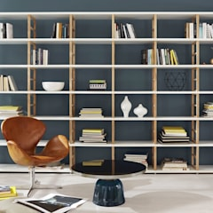 MAXX—Open Shelving Units:  Living room by Regalraum UK