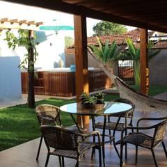ห้องอบไอน้ำ by Arquiteta Bianca Monteiro