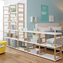 MAXX—Open Shelving Units:  Bedroom by Regalraum UK