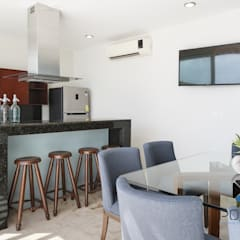 """""""PROYECTO CB36"""": Cocinas de estilo  por PORTO Arquitectura + Diseño de Interiores"""