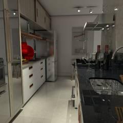 Cozinhas: Cozinhas embutidas  por Casa Studio 201