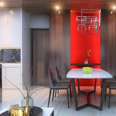 Bintaro House:  Dapur by Vicasso Interior