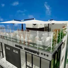 Restobar en Ultimo piso: Hoteles de estilo  por EPG  Studio