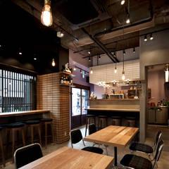 nakamuraya: case.work.が手掛けたオフィススペース&店です。,インダストリアル