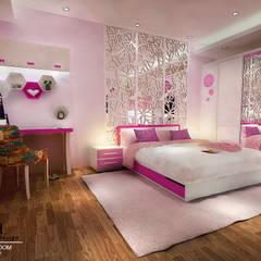 Girls Bedroom by Multiline Design