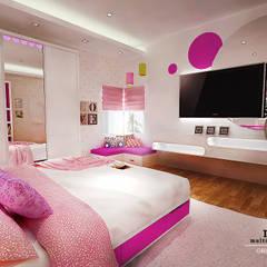 Kids Bedroom - Semarang: Kamar tidur anak perempuan oleh Multiline Design,