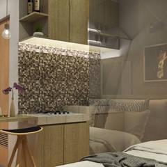 Studio Room - Puri Park View Kamar Tidur Minimalis Oleh Multiline Design Minimalis