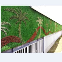 Artificial Plants Wall For Exterior Wall Landscapes and Decor:  Stadiums by Sunwing Industrial Co., Ltd.