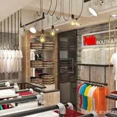 Public Store - Mangga Dua: Ruang Komersial oleh Multiline Design, Industrial