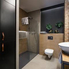 LIROWA: styl , w kategorii Łazienka zaprojektowany przez KODO projekty i realizacje wnętrz