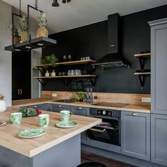 ห้องครัว by KODO projekty i realizacje wnętrz