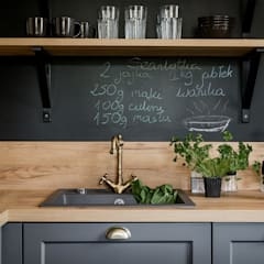 LIROWA: styl , w kategorii Kuchnia zaprojektowany przez KODO projekty i realizacje wnętrz