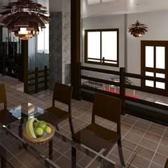 desde el comedor: Comedores de estilo  por Diseño Store
