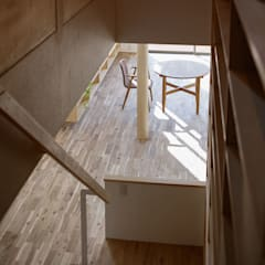 Projekty,  Dach zaprojektowane przez 株式会社 井川建築設計事務所