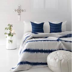 Log Stool - White :  Bedroom by Atelier Lane | Interior Design