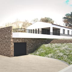 CAD - 83: Maisons de style de style Méditerranéen par MAY architecture