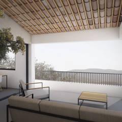CAD - 83: Terrasse de style  par MAY architecture