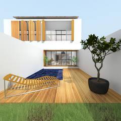 PAR - 83: Maisons de style  par MAY architecture