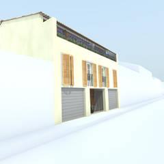 PAR - 83: Maisons de style de style Méditerranéen par MAY architecture