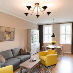 Wohnbereich:  Wohnzimmer von raumdeuter GbR