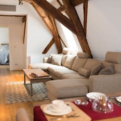 Dachgeschoss:  Wohnzimmer von raumdeuter GbR