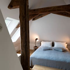 Dachgeschoss:  Schlafzimmer von raumdeuter GbR