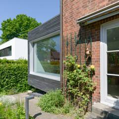 Fassadenansicht:  Holzhaus von Sieckmann Walther Architekten