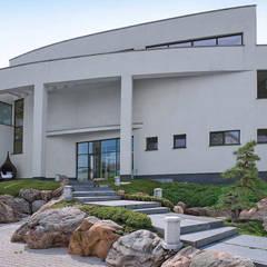 Жилой дом 950 м²: Вилла в . Автор – Morskoy Architect, Модерн Бетон
