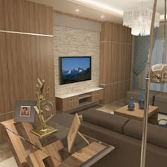 recepation area render 4 :  غرفة المعيشة تنفيذ Quattro designs